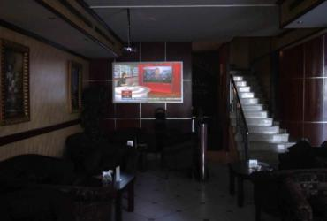 Font Projection Screen